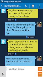 Penuduh Tidak Tanggung Jawab Aktivasi CUG Telkomsel  Suparman Damank  (2)