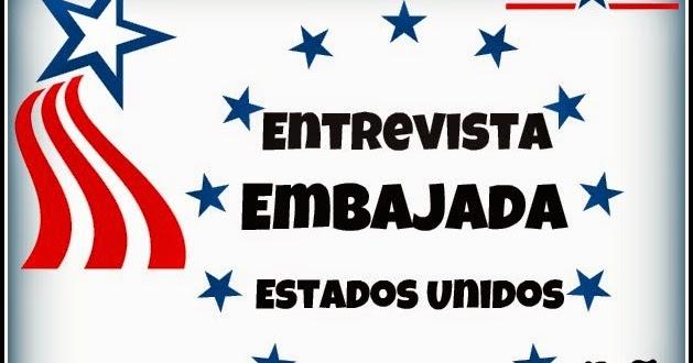 Entrevista En La Embajada Americana Para La Visa