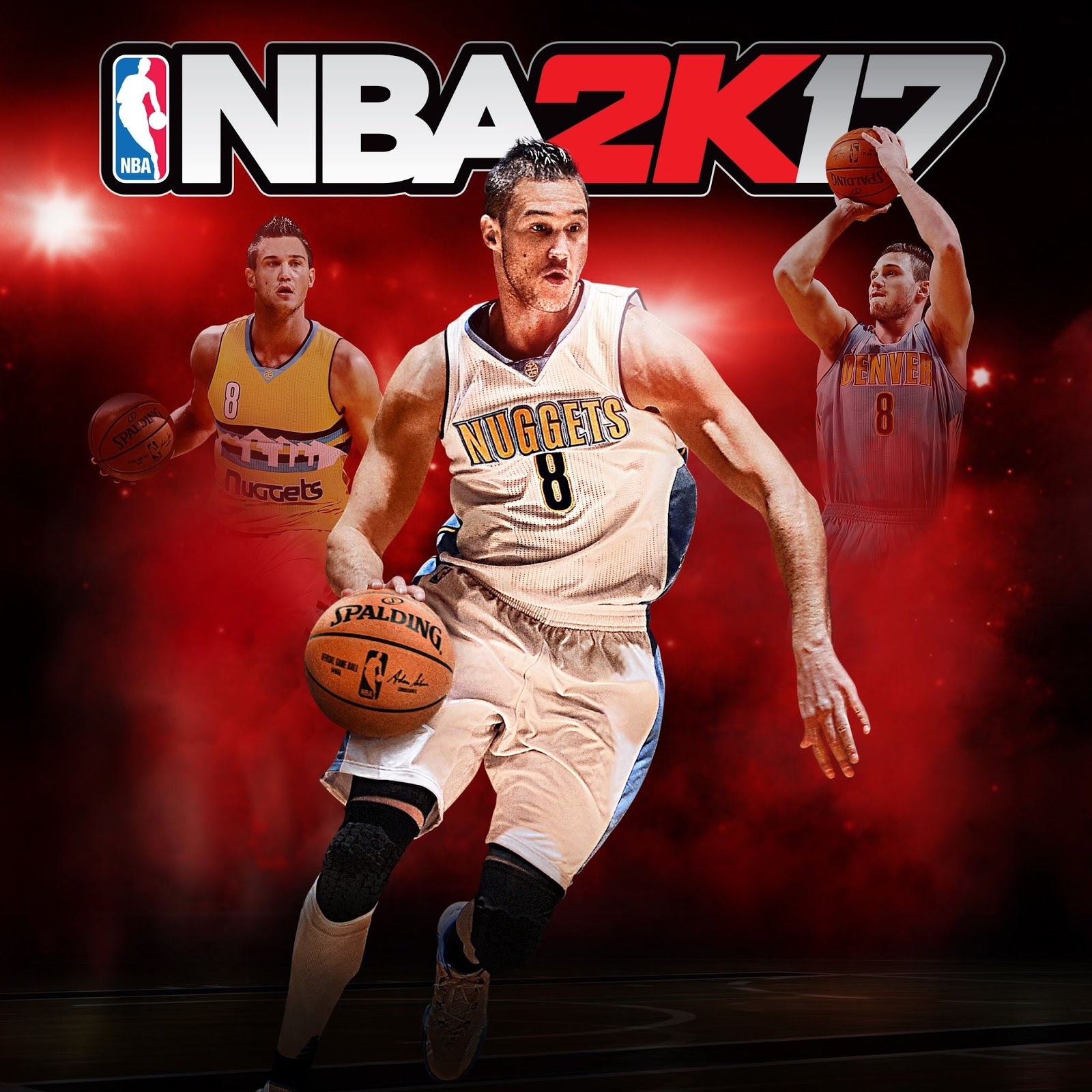 Danilo Gallinari posted the Italian cover of NBA 2K17, featuring himself.
