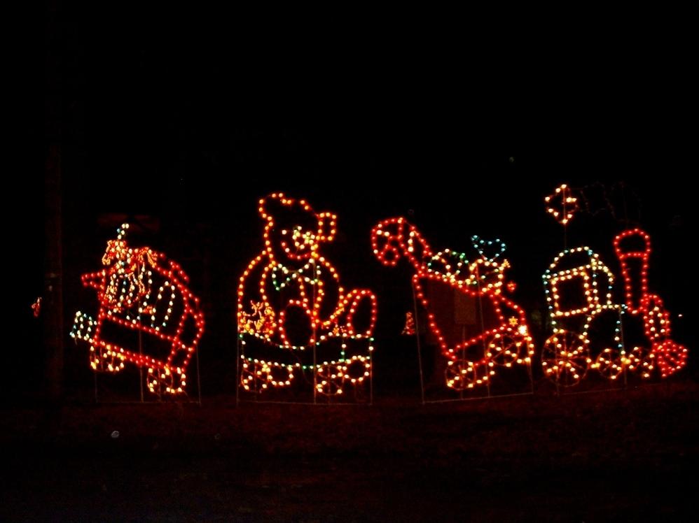Nay Aug Park Christmas Lights