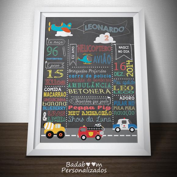 chalkboard, quadro, lousa, negro, brinquedo, decoração, festa, infantil, maternidade, betoneira, bombeiro, avião, carro policia, helicoptero, badaboom, arte digital,