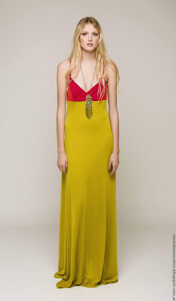 Moda verano 2017 ropa de muejr Silvina Ledesma. Moda verano 2017.