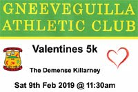 5k in Killarney... Sat 9th Feb 2019