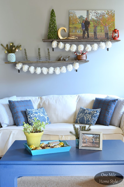 So Easy Yarn Pom Pom Garland - One Mile Home Style