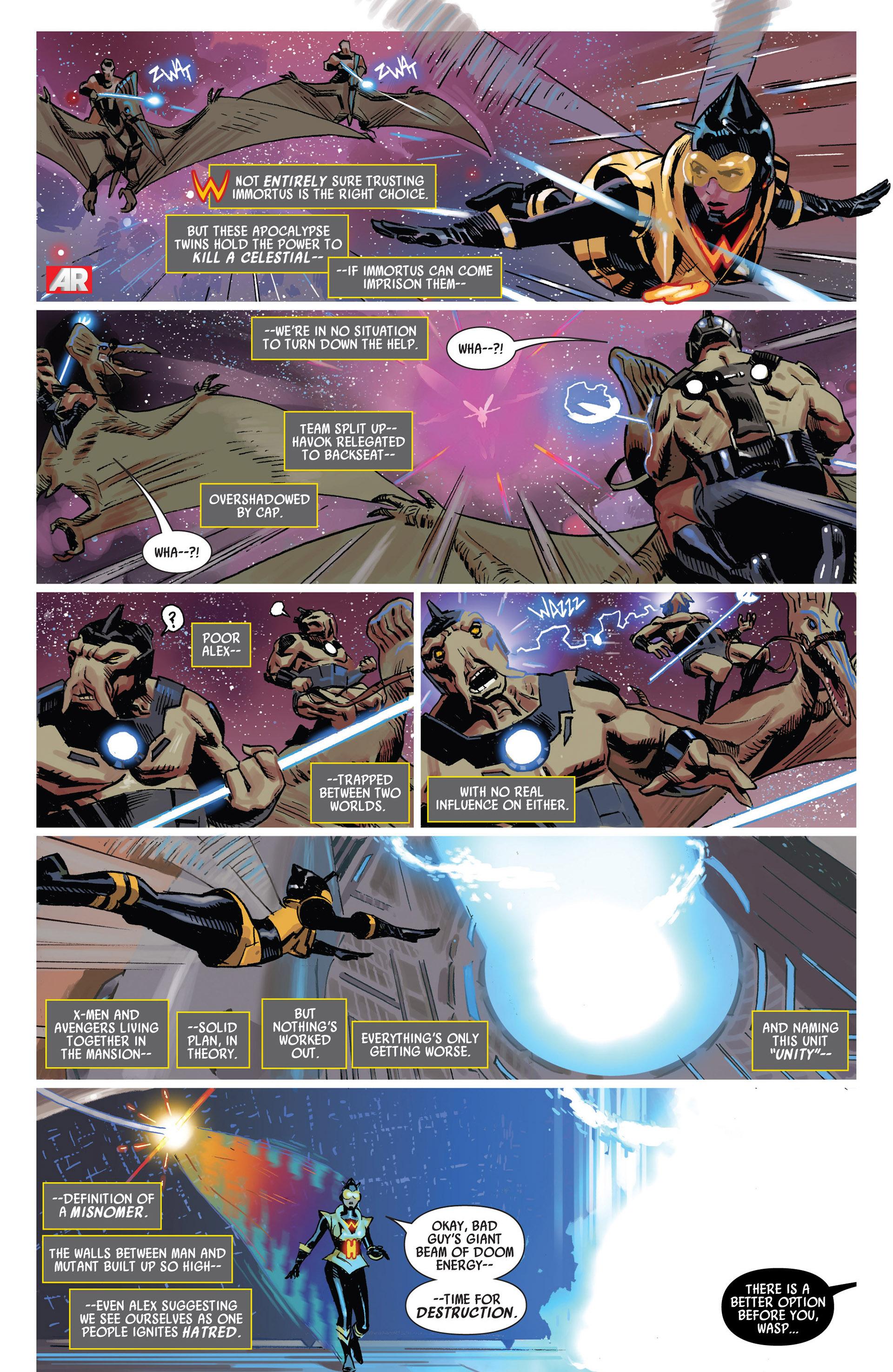 Read online Uncanny Avengers (2012) comic -  Issue #13 - 14