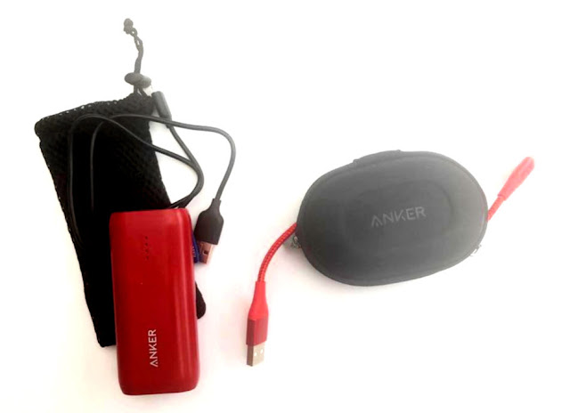 Anker battery pack and powerline