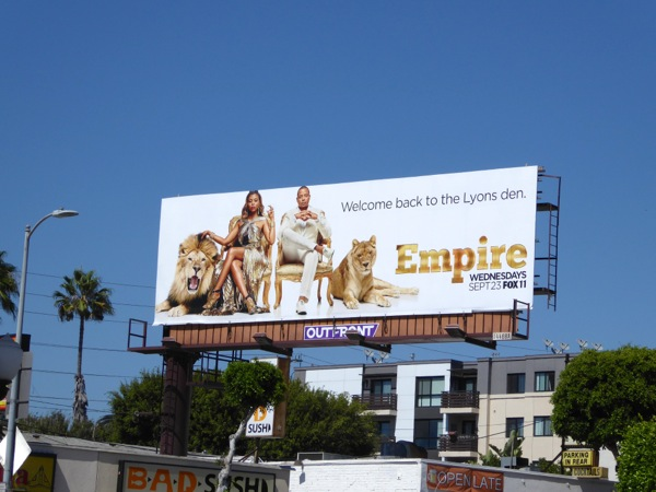 Empire season 2 lions billboard