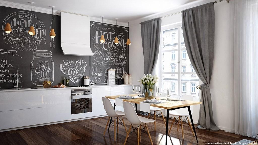 Interior Design Kitchen Blackboardwinsila.com