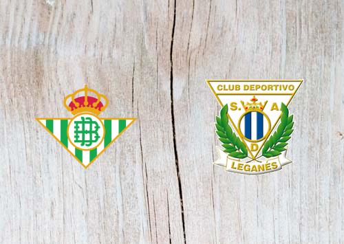 Real Betis vs Leganes - Highlights 30 September 2018