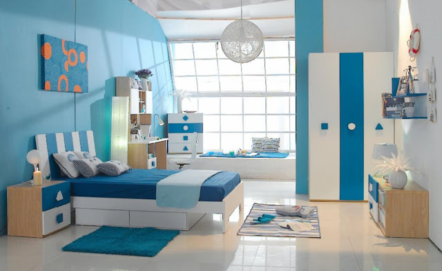 Best blue bedroom for a well-designed place to rest your head