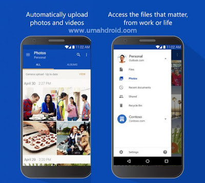 Microsoft OneDrive Cloud Storage Apps Android