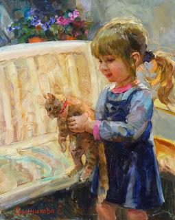 pequeña-niña-retrato-oleo