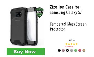Zizo Ion Case for Samsung Galaxy S7