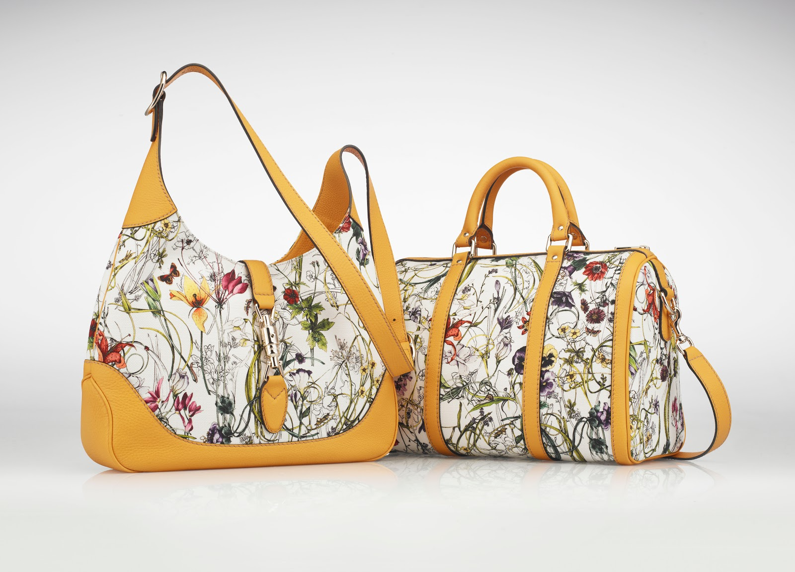 Gucci's Singapore-Exclusive Limited Edition Flora Bags