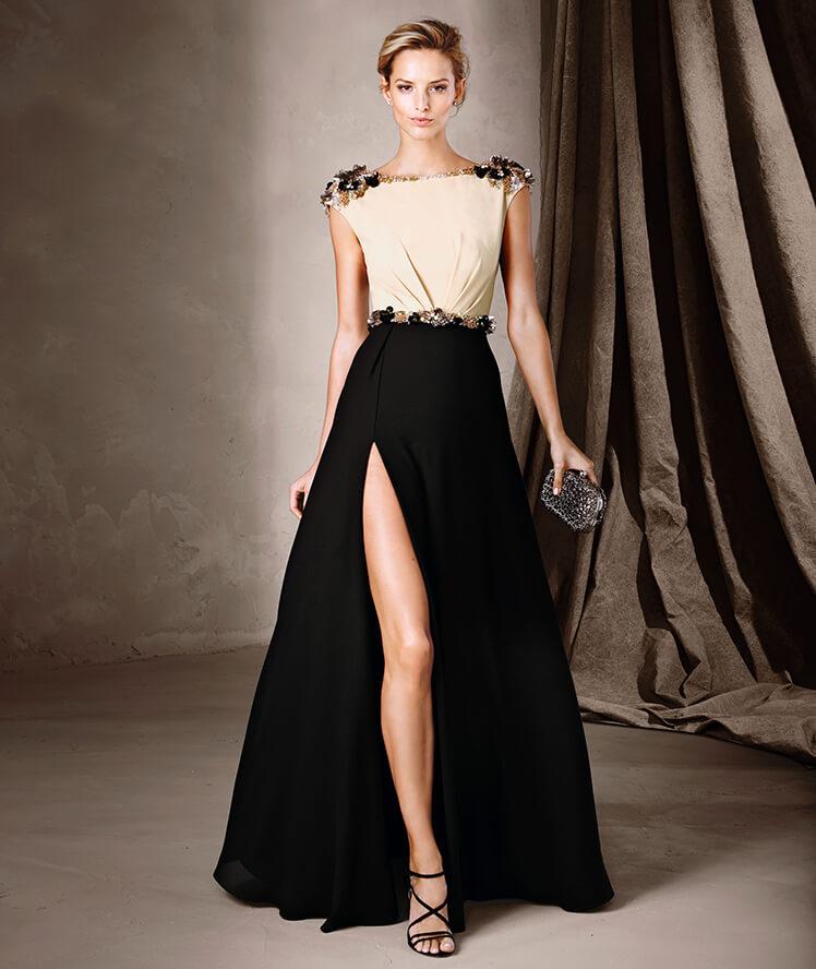 Modelos de vestidos de fiesta en color negro