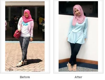Pengalaman diet turunkan berat badan 12 kg