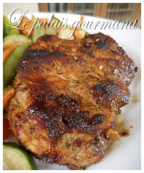 Le palais gourmand poitrines de poulet grill es miel et ail - Basilic seche a ne pas consommer ...
