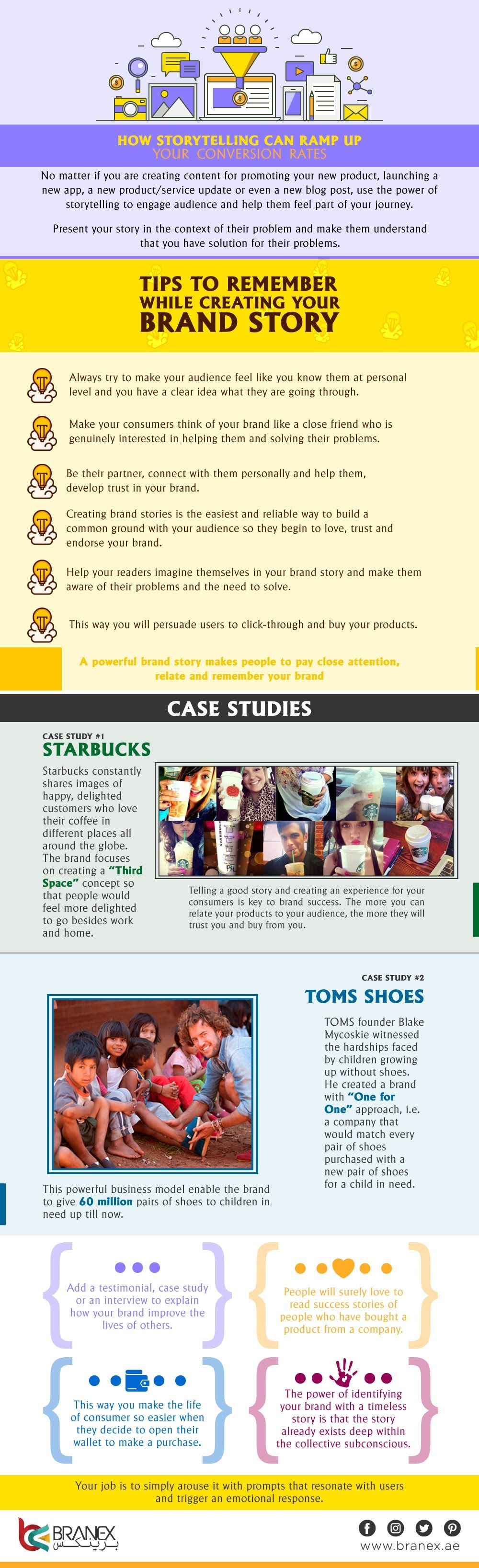 How Storytelling Can Ramp Up Your Conversion Rates #infographics