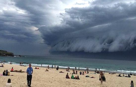 Σύννεφο, Τσουνάμι, Σίδνεϊ, Αυστραλία, Καταιγίδα, Time lapse Video, Pics 2