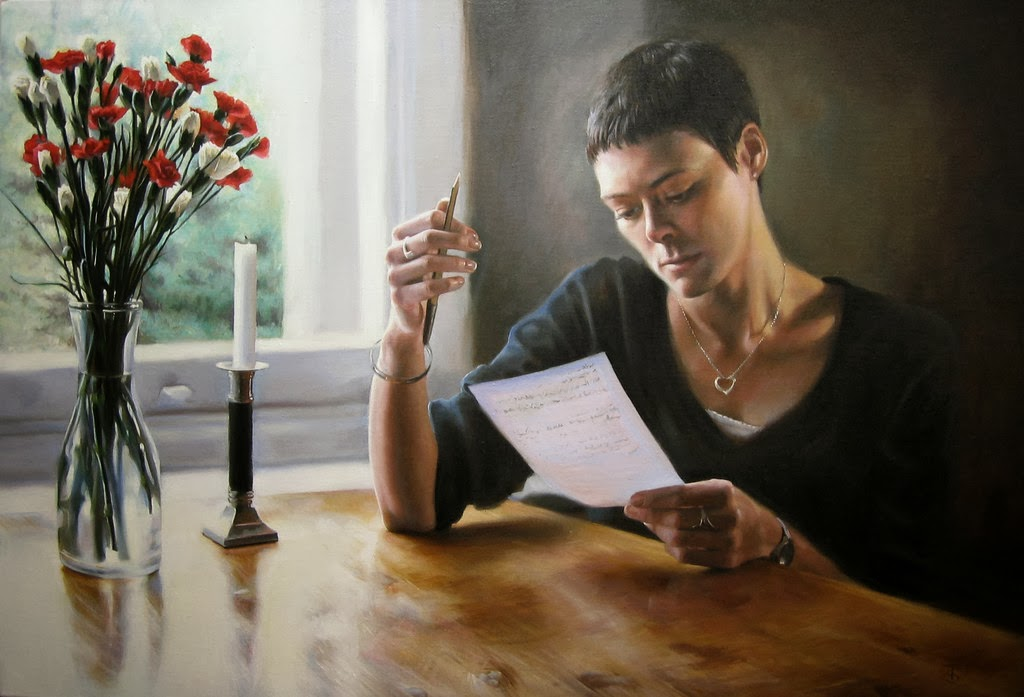 Figurative Oil Paintings by Tina Spratt