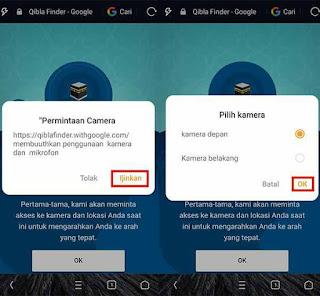 Mencari Arah Kiblat Dengan Smartphone Tanpa Instal Aplikasi 2