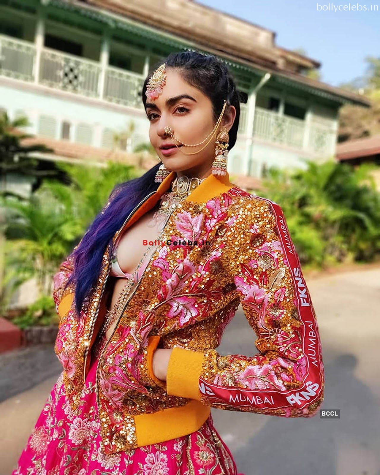 Adah Sharma Stunning Monokini Pics bollycelebs.in Exclusive
