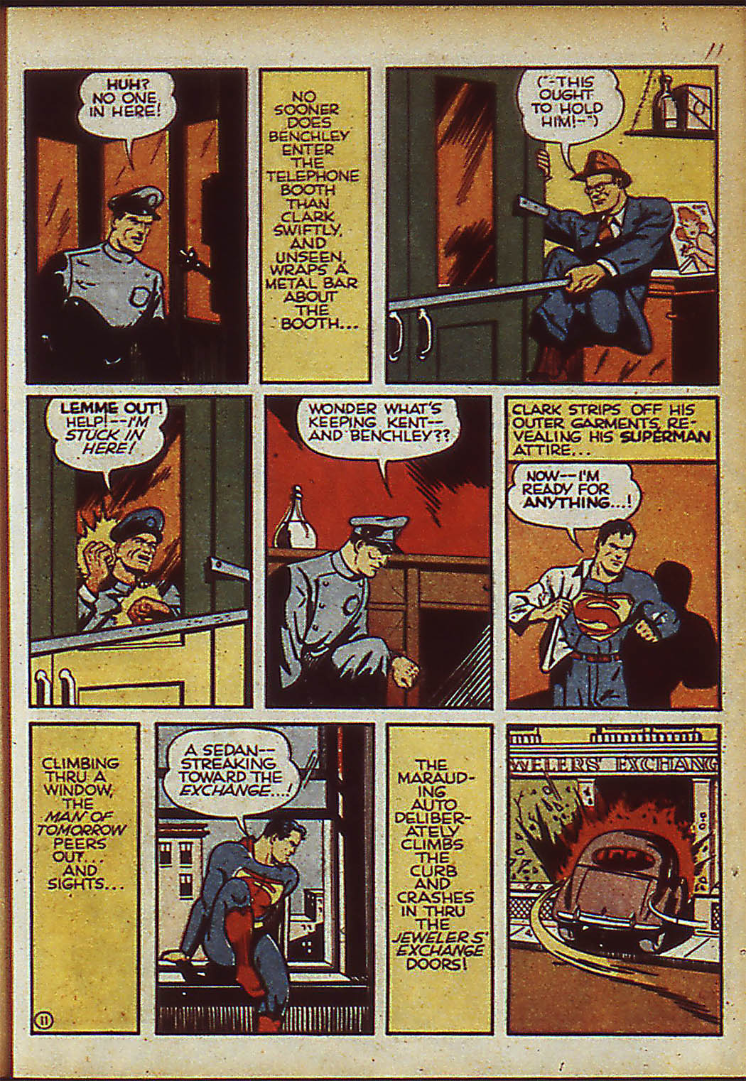 Read online Action Comics (1938) comic -  Issue #37 - 13