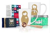 Logo Gratta e vinci gratis il Kit Reale di Kusmi Tea