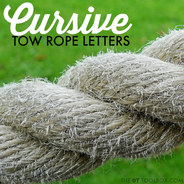 Use these tricks and strategies to to teach cursive letters that have a tow rope connection, this includes teaching lowercase cursive letters b, o, v, w.