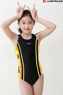 Bộ bơi xuất Hàn Quốc bé gái, vietnam gia công, size 7-14T.
