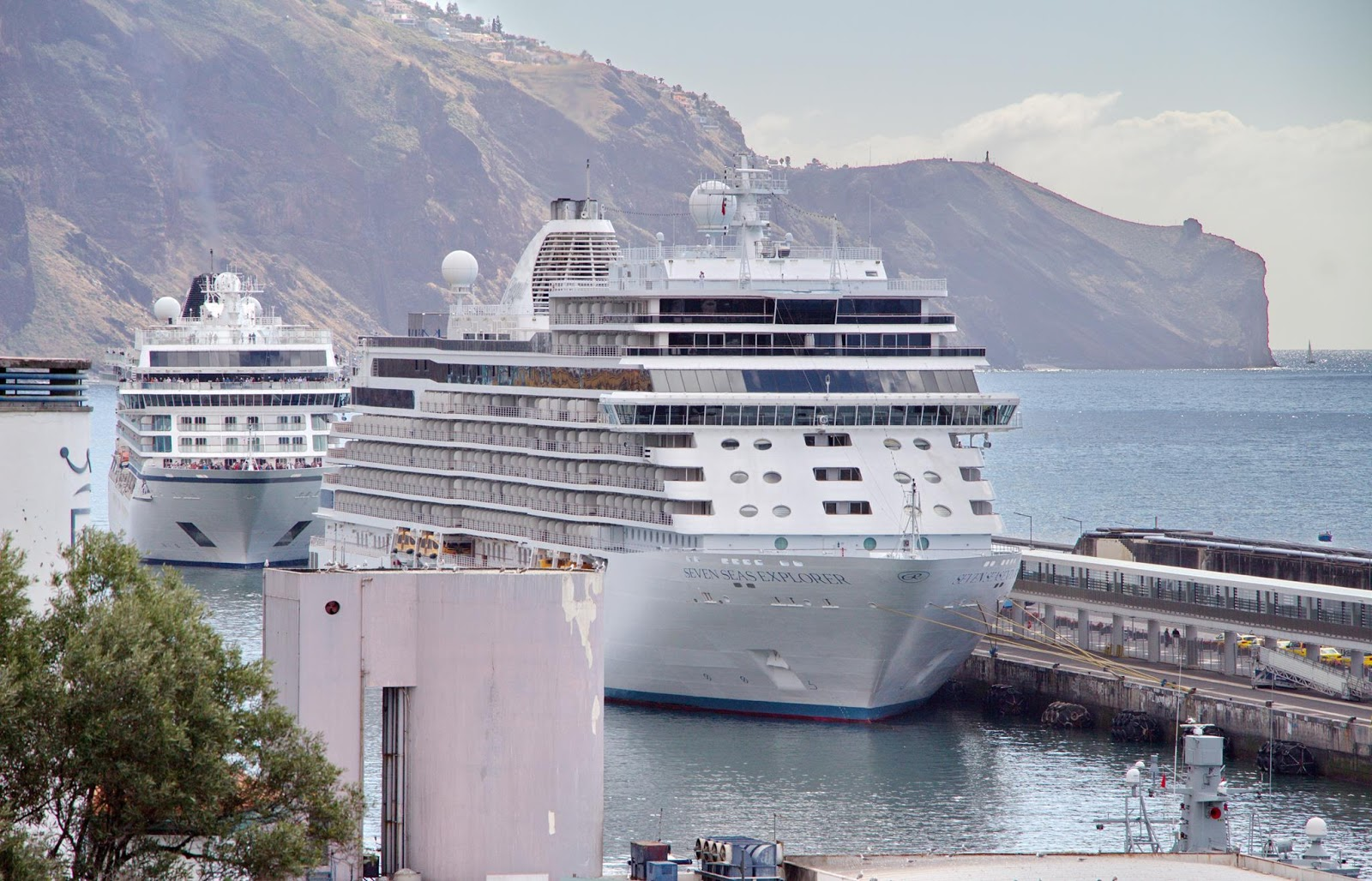 requinte no Porto do Funchal