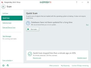 تحميل برنامج Kaspersky Anti-Virus لمكافحة الفيروسات