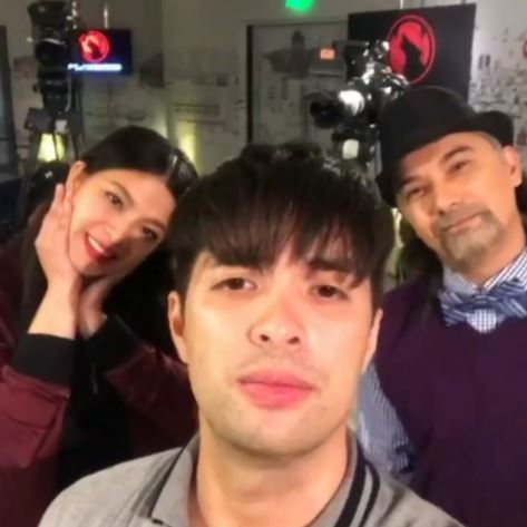 Bonding Moments Were Recorded In The Set Of La Luna Sangre!
