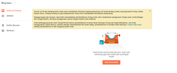 membuat blog gratis di blogspot 3