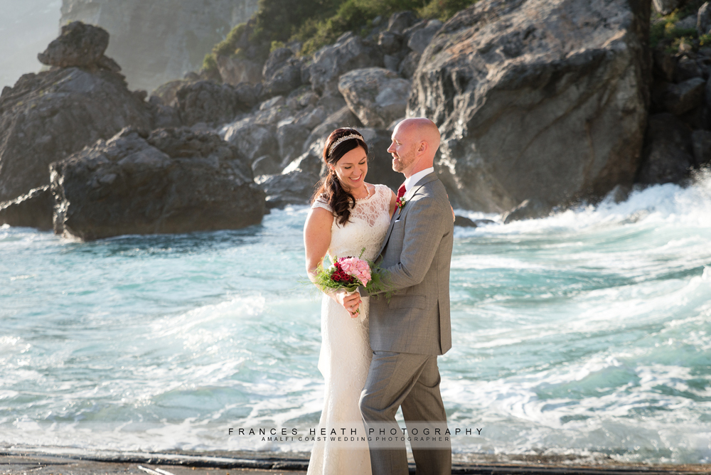 Wedding beach portraits