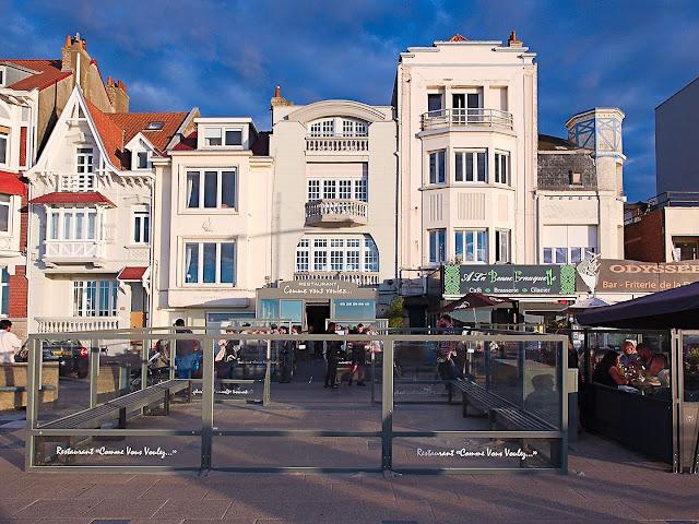 Dünkirchen Häuser Promenade