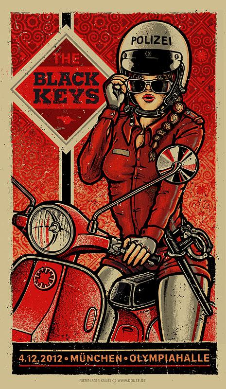 Inside The Rock Poster Frame Blog The Black Keys Munich