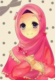 Gambar Koleksi Foto Gambar Muslimah Kartun Lucu Benget Cantik Di Rebanas Rebanas