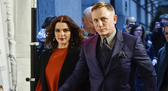 Rachel Weisz espera 1º filho do casamento com Daniel Craig