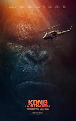 Kong: La Isla Calavera - cartel españa