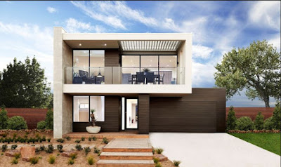 house front design in modern style