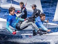 VELA - Jordi Xammar/Joan Herp y Bárbara Cornudella/Sara López representarán a España en la clase 470 en los próximos JJOO