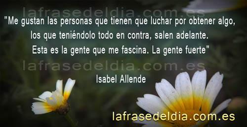 Citas célebres Isabel Allende