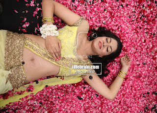 Sakshi Chodary in Yellow Transparent Sareei Choli Spicy Pics 29 .xyz.jpg