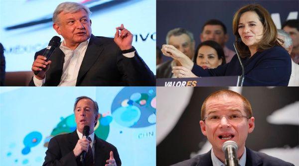 ¿Qué proponen los candidatos a la presidencia de México?