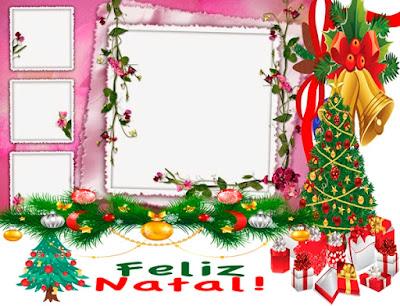 Montagem de fotos natalinas