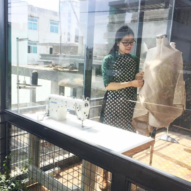 Địa chỉ thuê, may đo áo dài truyền thống, cách tân tại Đà Nẵng