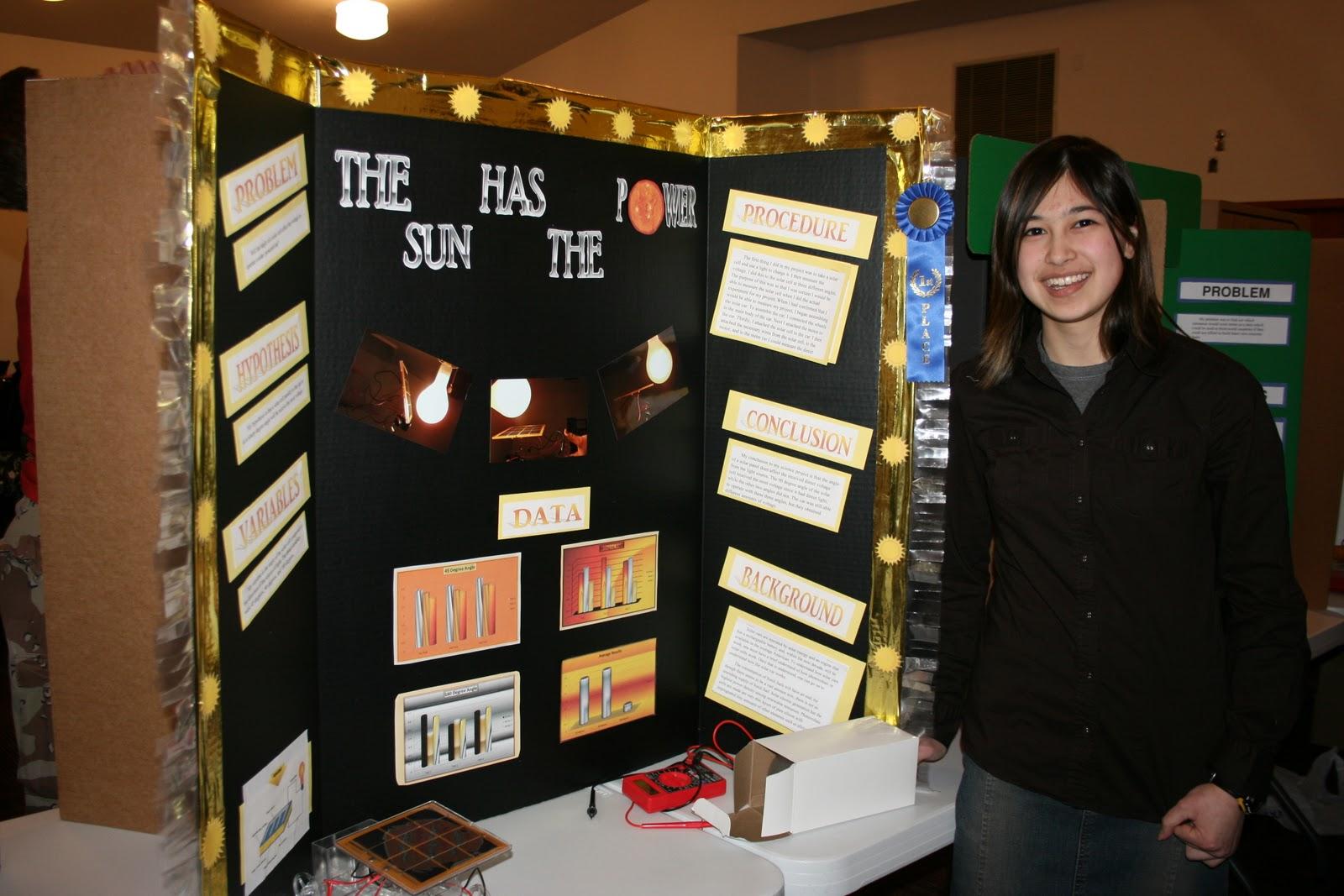 The Children S Hour Science Fair