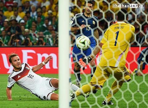 Bàn thắng được ghi ở phút thứ 113 của Mario Gotze.