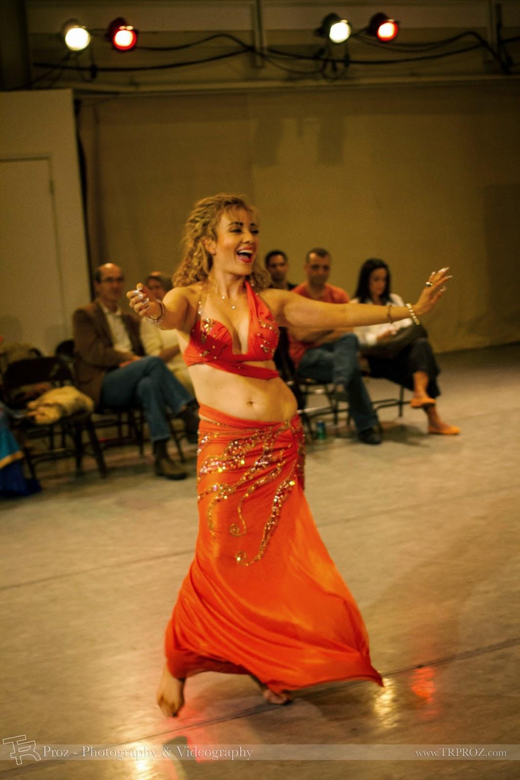 Ukrainian Belly Dancer Alla Kushnir Visits The Bay Area